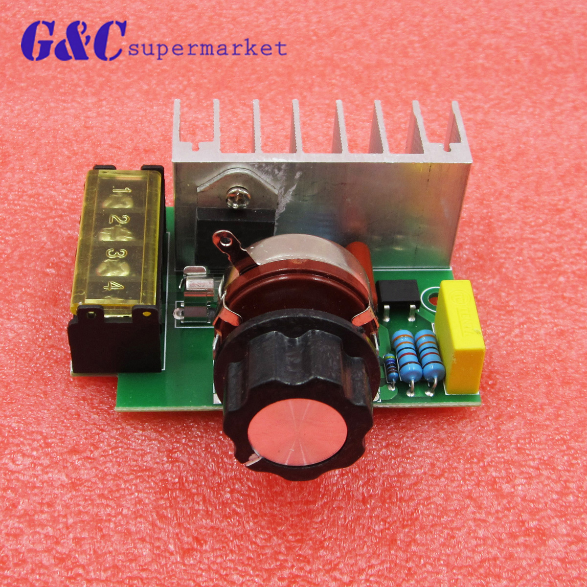 4000w Ac 220v Scr Voltage Regulator Mayitr Adjustable Power Supply Ratings Of An Board Speed Control Dimmer For Brush Motor Electric Iron In Integrated Circuits From