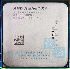 AMD Athlon X4 740 X4-740 X4 740X AD740XOKA44HJ CPU Quad-Core 3.2Ghz 65W Desktop CPU  Socket FM2