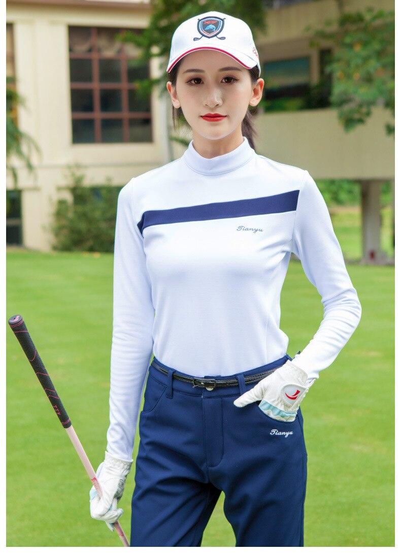 2019 roupas de golfe das mulheres de