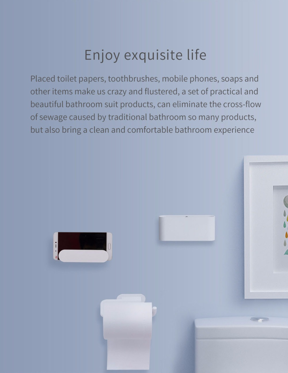 Xiaomi HL 5in1 Bathroom Accessories 8