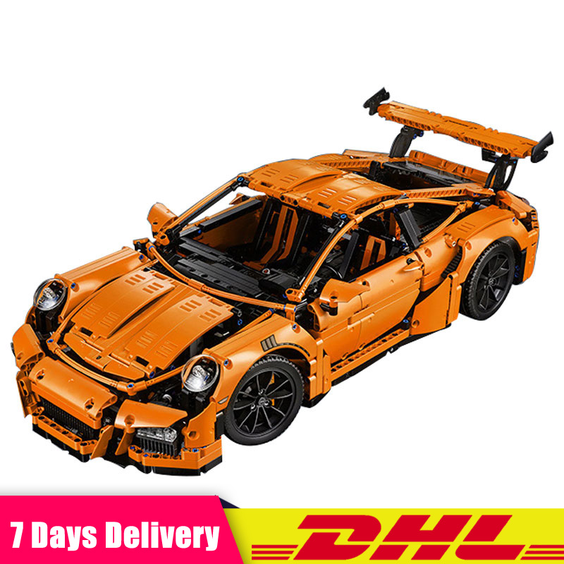 In Stock Technic Super Race Car Model Building Kits Bricks Blocks Educational Toys for Children Christmas Gift Compatible 42056 фен philips bhd001 00 1200вт черный