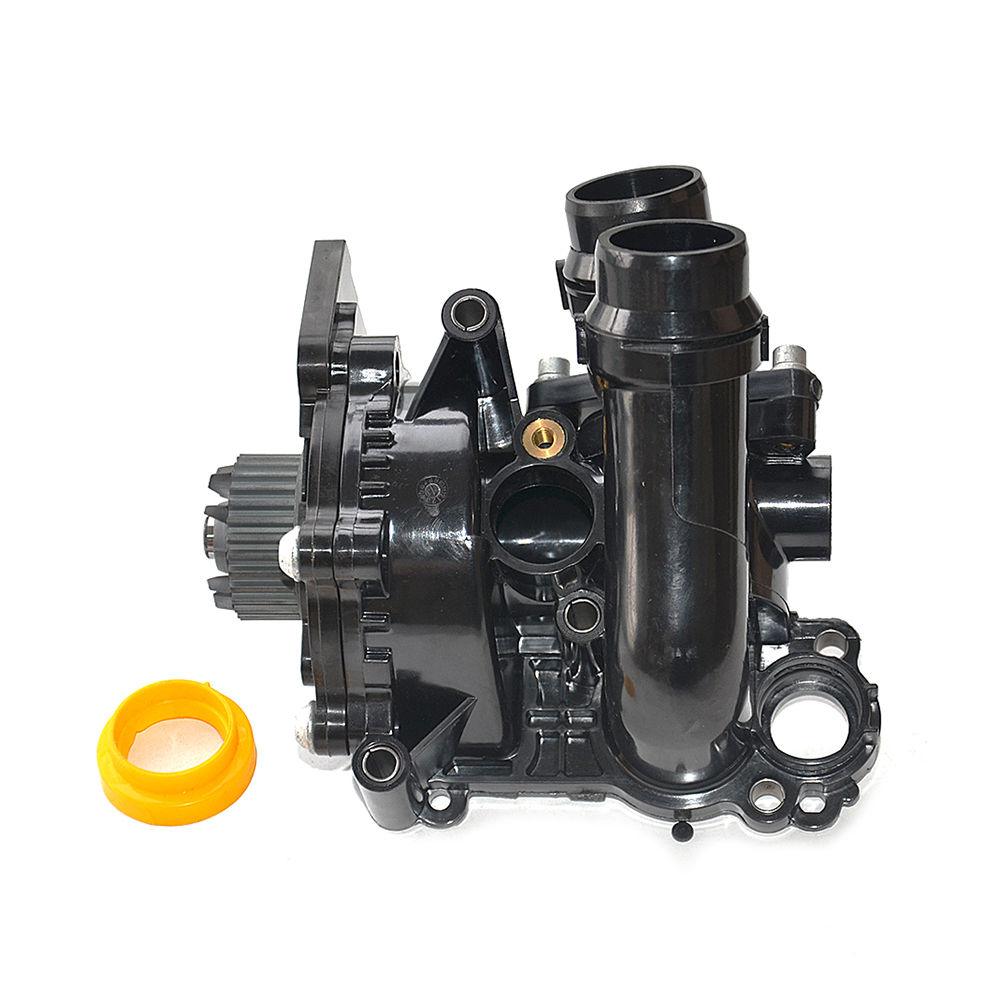 HONGGE 1.8T 2.0T Engine Cooling Water Pump Assembly For VW Jetta Golf Tiguan Passat CC Octavia Seat Leon 06H 121 026 06H121026 mutoh vj 1604w rj 900c water based pump capping assembly solvent printers