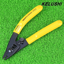 KELUSHI High Quality CFS-2 Fiber Optic Stripper Clamp double-hole pliers upgraded version CFS-3 pliersavailable forceps Miller
