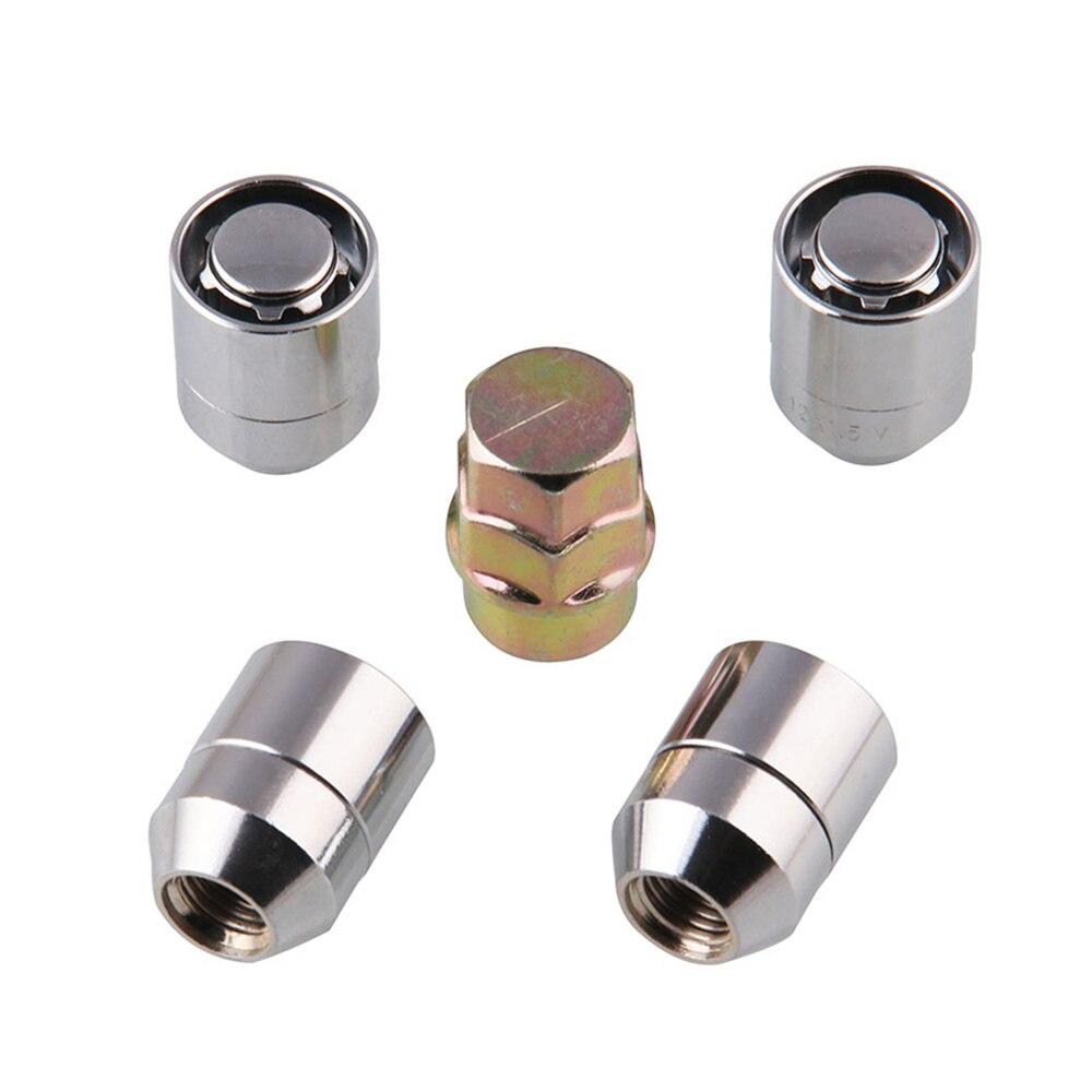 20PCS TITANIUM STEEL LOCKING HEPTAGON SECURITY NUTS LUGS FOR WHEELS//RIMS M12X1.5