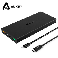 Aukey 16000mAh Power Bank With Qualcomm Quick Charge 2 0 Dual USB Mobile Charger With Type