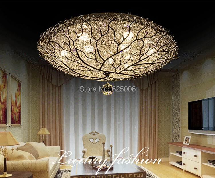 18W / 27w Bird's nest Led Ceiling Lights Aluminum children's bedroom Ceiling Lamp Dia. 40cm 50cm ...