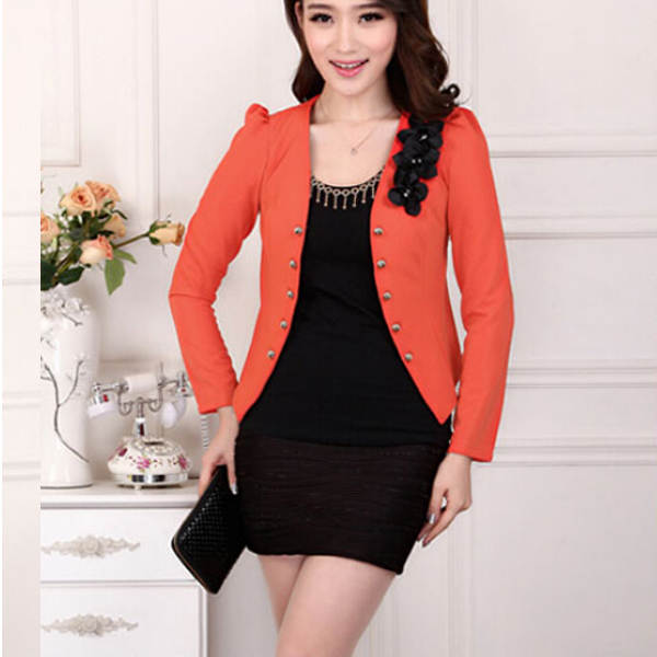 Spring Jacket Women 2019 Fashion Slim White Jacket Long-Sleeve Single  Button Slim Bomber Jacket 13f745de7