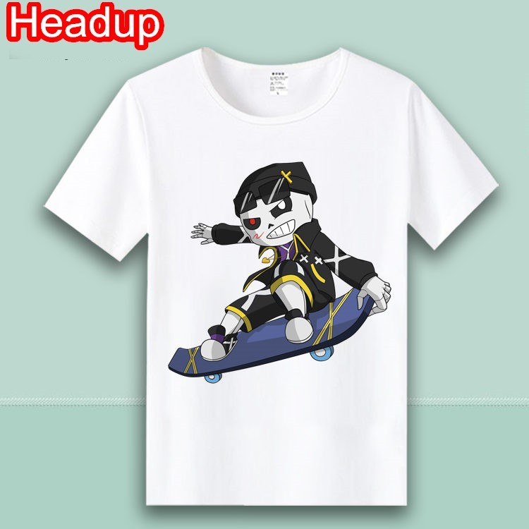 New Kids Undertale Sans Papyrus T shirt Gaming Boys Girls Fortnight