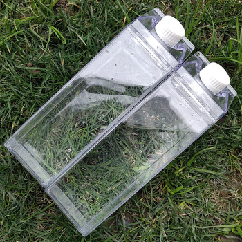 My 500ml Outdoor Sport Kitchen Transparent Milk Water Bottle Drinkware Creative Climbing Tour Hiking Adults Sport Water Bottles 4