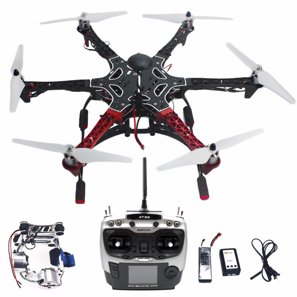 Assembled F550 6-Aixs DIY ARF Full Kit with APM 2.8 Flight Controller GPS Compass & Gimbal with AT9S Transmitter RX F05114-AS new pattern brand quality leisure women sandals slippers summer fashion shoes beach flip flops women footwear size 36 40 wa0182