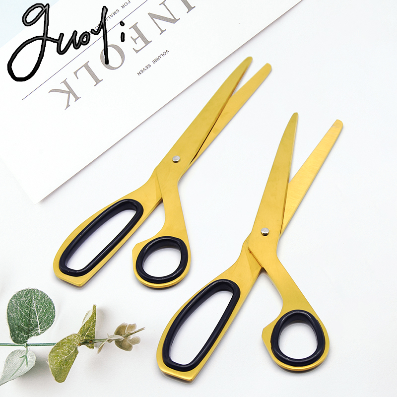 Guoyi G005 European Craft Scissors Cutting Supplies School Student Stationery Office Countertop Storage