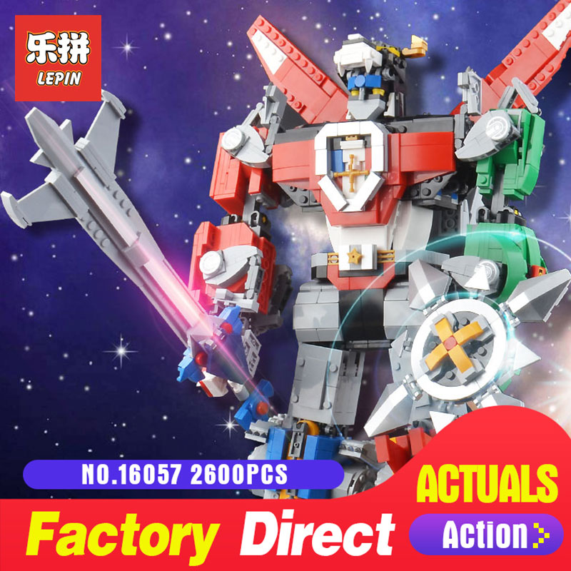New Lepin 16057 2600pcs idea serise Voltron Defender Of The Universe Building Blocks Bricks LegoINGlys 21311 DIY Toys Gifts цена и фото