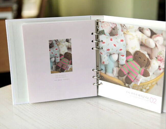Populaire Free shipping stationery new year diy photo album baby diary home  EM06