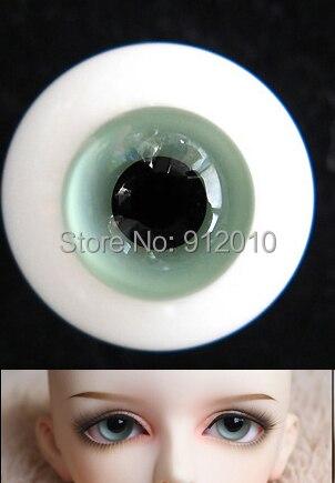 BJD Doll A Glass Eyes10MM,12MM,16MM,18MM Ligth Green SD MSD YOSD Luts DOD AS DZ Doll Eyes GA1