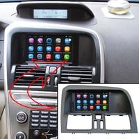 6,2 дюймов Android 7,1 автомобиля gps навигации для VOLVO XC60 автомобильного видеоплеера Поддержка WiFi умный мобильный телефон зеркало link