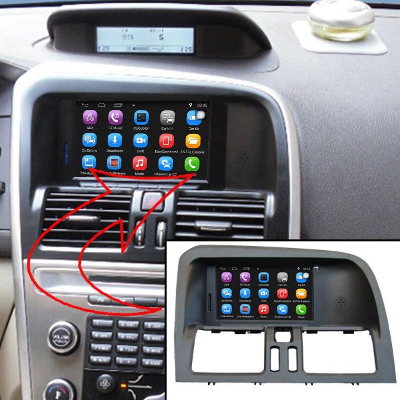 6,2 дюймов android-автомобильный gps навигации для <font><b>VOLVO</b></font> XC60 автомобиль видео плеер Поддержка Wi-Fi интеллектуальных мобильных телефонов зеркало-link