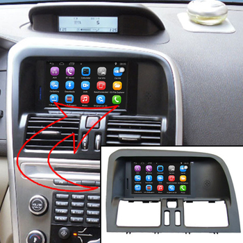 6.2 inch Android 7.1 Car GPS Navigation for VOLVO XC60 Car Video Player Support WiFi Intelligent mobile phone Mirror-link 180sx led ヘッド ライト