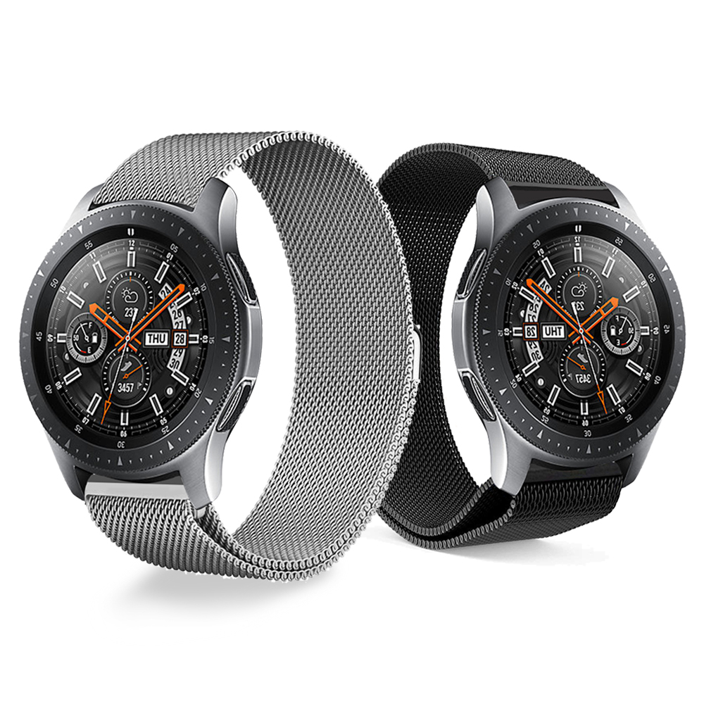 Metal stainless steel Milanese Loo Band for Samsung Galaxy Watch 46mm 42mm Wrist Strap Bracelet For Samsung Smart WatchbandMetal stainless steel Milanese Loo Band for Samsung Galaxy Watch 46mm 42mm Wrist Strap Bracelet For Samsung Smart Watchband