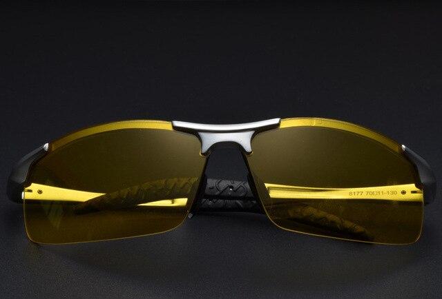 61a44301e83be Óculos de Dirigir À Noite para a Noite de KH KH Hong Kong Famosa Marca  Óculos