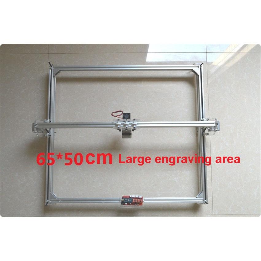 1PC DIY laser engraving machine 500mw mini laser engraving machine mini laser engraver working area 65*50cm