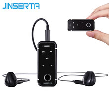 JISNERTA Multipoint Lavalier Mini Clip Bluetooth Stereo Music Wireless Earphone Clamp Collar Microphone For Smartphones(China)