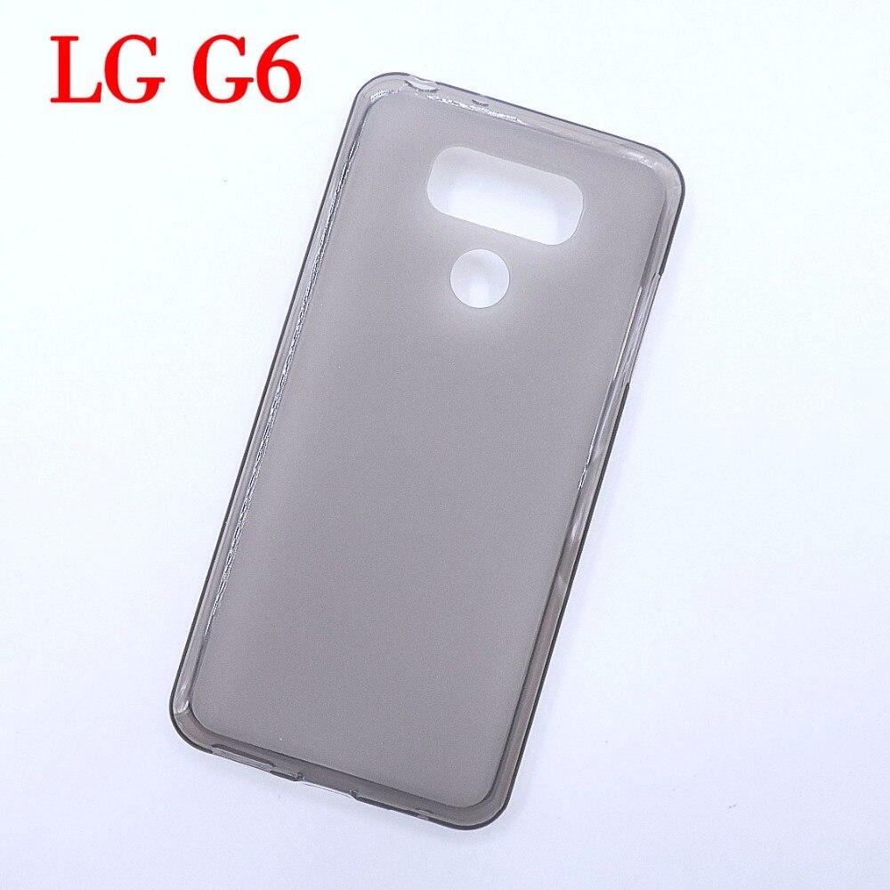 Для <font><b>LG</b></font> <font><b>G6</b></font> чехол ультра-тонкий прозрачный ТПУ Мягкая задняя крышка телефон Защитите Shell для <font><b>LG</b></font> <font><b>G6</b></font>
