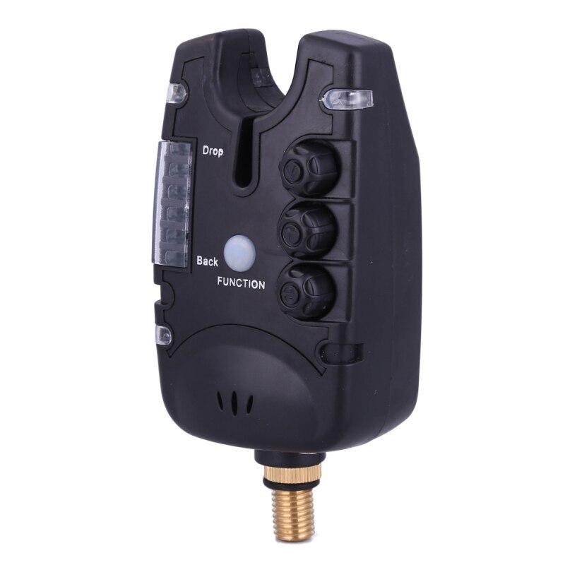 6 LEDs Fishing Bite Alarm Pesca Indicator Adjustable Tone Volume Sensitivity Loudly Sound Outdoor Fishing Newest