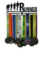 Two-rack   Runner Medal  Hanger