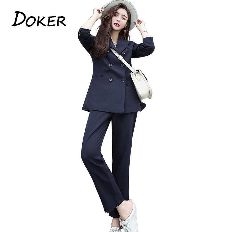 ファッションエレガントな仕事ビジネスのためのシングルブレストブレザージャケットとショートパンツのツーピースセット女性オフィス制服
