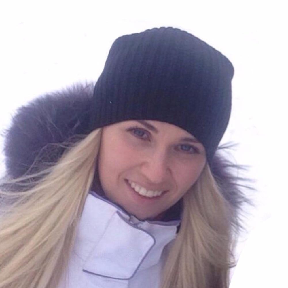 Warm Soft Winter Hats For Women Solid Hat Female Unisex Plain Gorros Hombre   Skullies     Beanie   Knitted Kippah Cap