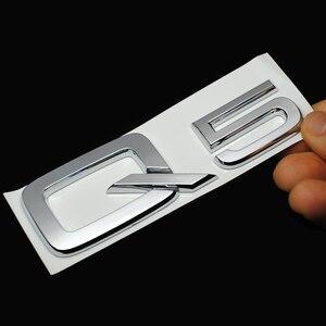 Image 5 - トップabs樹脂クローム3DステッカーアウディQ3 Q5 Q7 A3 A4 A5 A6 A7 A8ロゴ車のスタイリング車の装飾エンブレムバッジデカール