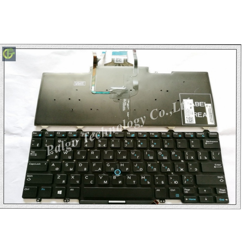 Russian Backlit RU Keyboard for Dell Latitude 3340 e3340 E5450 E7450 5450 7450 3350 Black keyboard with backlitRussian Backlit RU Keyboard for Dell Latitude 3340 e3340 E5450 E7450 5450 7450 3350 Black keyboard with backlit