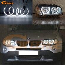 Для BMW E83 X3 2007-2010 галогенные фары отличного качества ангельские глазки Ультра яркое освещение CCFL ангельские глазки комплект Halo Кольцо