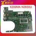 Para asus x200ma mainboard rev2.1 n2830cpu procesador 4g 90nb0401-r00030 completamente prueba