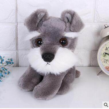 New Plush Schnauzer Dog For kids GIFT DOLL 20CM SIZE TOY 1PC hot sale TOY