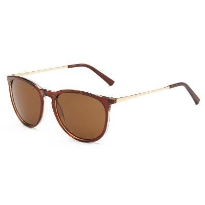 Retro Sunglasses Women Men 2018 Brand Designer Round Sun Glasses Mirror lens for Man Lady Male Sunglasses Oculos De Sol Eyewear 4