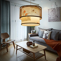 new Chinese bamboo creative Japanese restaurant cafe Pendant Lights southeast pastoral Pendant lamp ZA627 ZL118