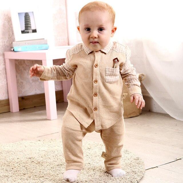 2016 Весна Хлопок Мальчиков Рубашки Дети Тис Baby Boy рубашки Кардиган Блуза Куртка Детская Одежда С Длинным Рукавом 100% Хлопок футболки