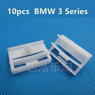 10x for BMW 3 Series E36 E46 E90 E91 Side Skirt Trim Clips Sill Moilding Clips