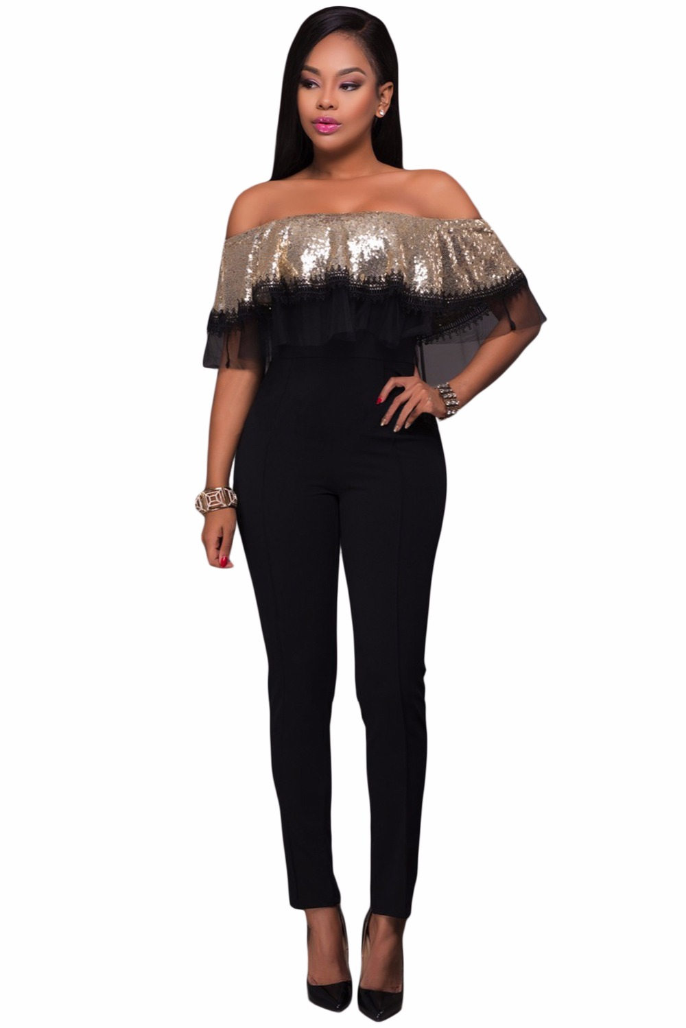 Gold-Sequin-Ruffle-Top-Jumpsuit-LC64249-12-2