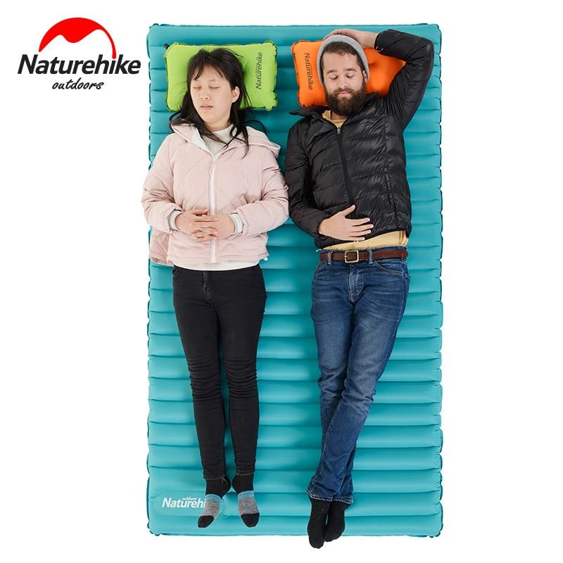 Naturehike 2 personas Al aire libre estera de camping Inflable Aire - Camping y senderismo