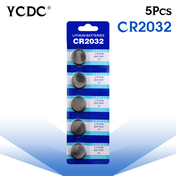 Cheap 5x cr2032 3v lithium battery cr 2032 Button Coin Cells Batteries CR2032 DL2032 KCR2032 5004LC pilha cr2032 batteries