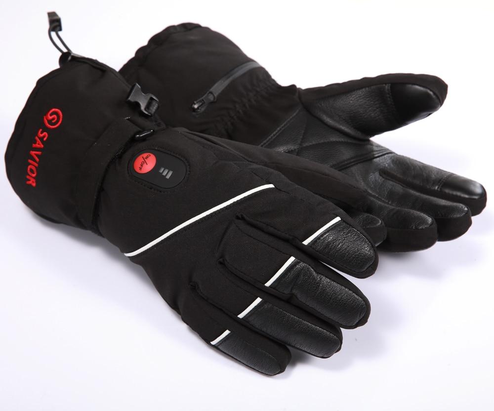 Fingers Heating Gloves 74V 2200Mah Electric Heat -4625
