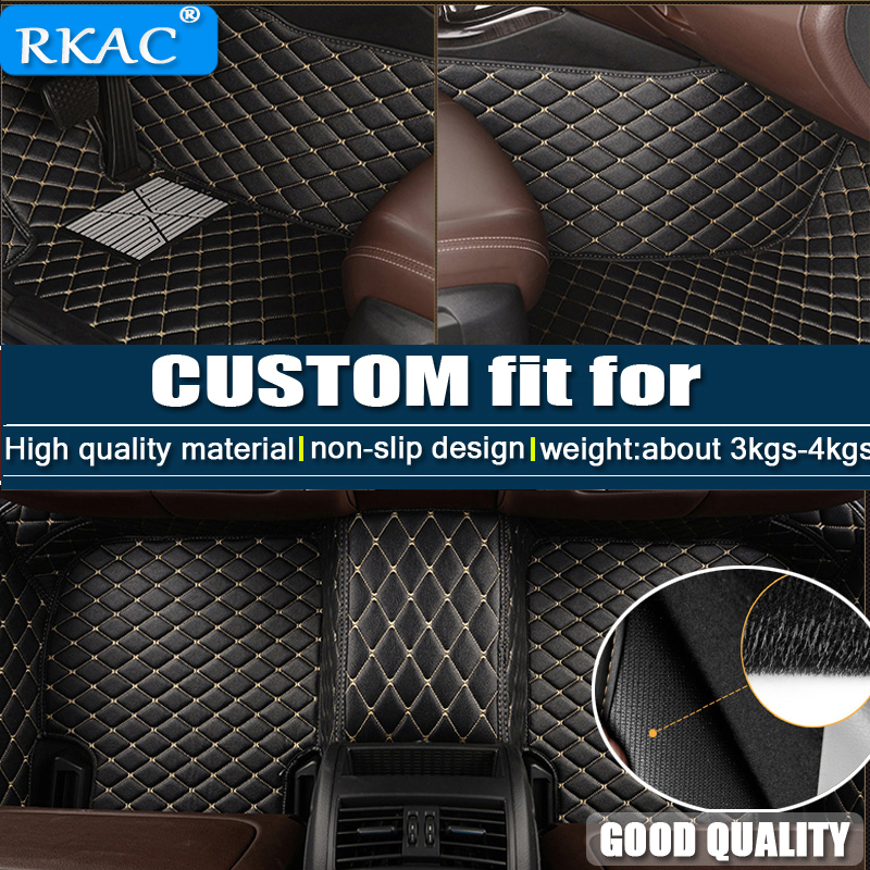 For LHD Honda CIVIC 10th Sedan 2017 2016 Custom Car Floor Mats Leather Rugs Car-Styling Interior Auto Pad Mat Covers Accessories car floor mats for lhd nissan murano 3rd z52 2018 2017 2016 2015 2014 custom rugs auto interior pad mat accessories car styling