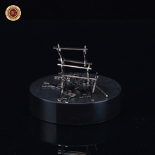 Magnetic Sculptures / Magentic Desk Art Sculpture/DIY Perpetual Motion Toy/ for Science Fun