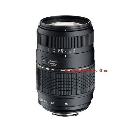 AF 70-300mm F4-5.6 Di LD Macro Telephoto Lens For Nikon D3300 D5200 D5300 D5500 D90 D60 D40X D3200 D3400 SLR (For Tamron A17)