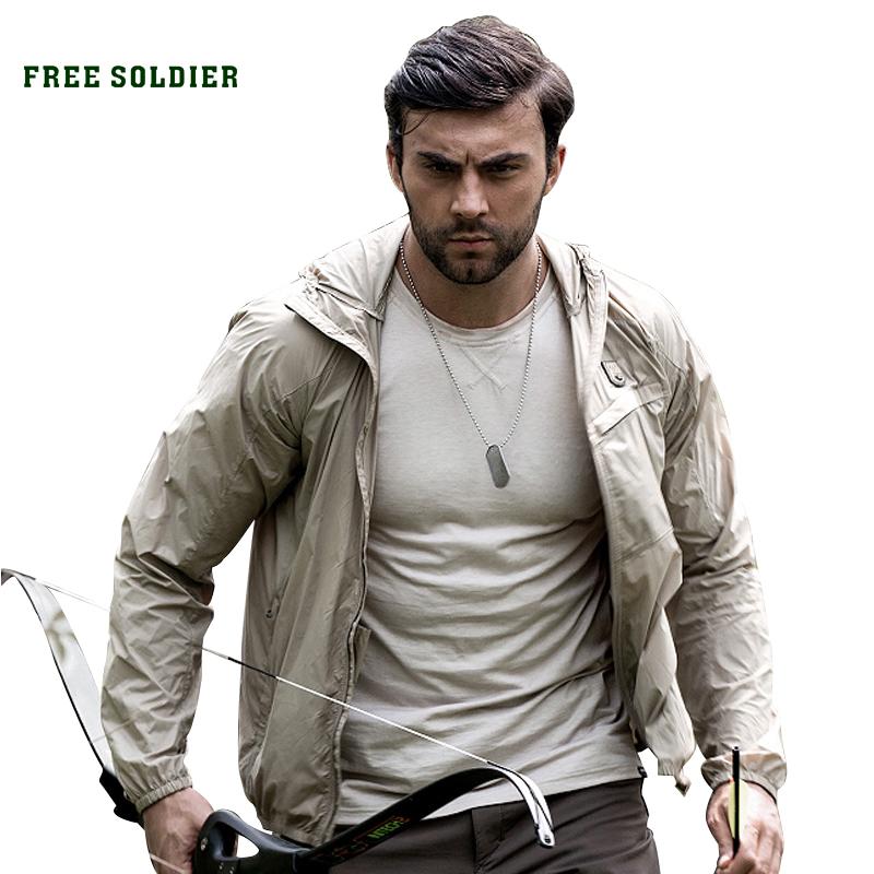 Prix pour FREE SOLDIER extérieure chemise tactique vêtements pour la pêche escalade uv protection de chemise hommes à manches longues vestes randonnée chemise