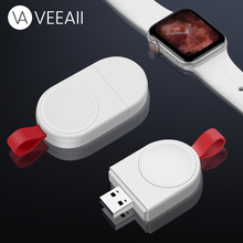 VEEAII Portable Magnetic Wireless Charger for Apple Watch Charger Series 1 2 3 4 USB Cable Watch Dock Adapte Fast Charging USB все цены
