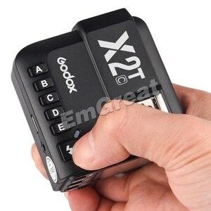 Image 3 - Godox X2T C X2T N X2T S X2T F TTL 1/8000s HSS transmetteur de déclenchement de Flash sans fil pour Sony Canon Nikon Fuji Olympus