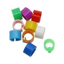 100 шт байонетное идентификационное кольцо без номера кольцо для ног птицы кольца для голубей внутренний диаметр 6 мм принадлежности для обучения птиц